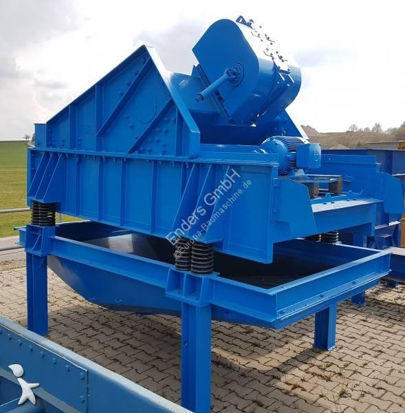 Bekijk foto's Breken, recyclen Schenck Entwässerungssieb