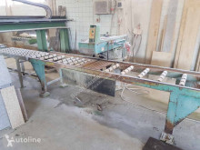 Breken, recyclen Weha	Head saw and conveyor belt tweedehands transportband