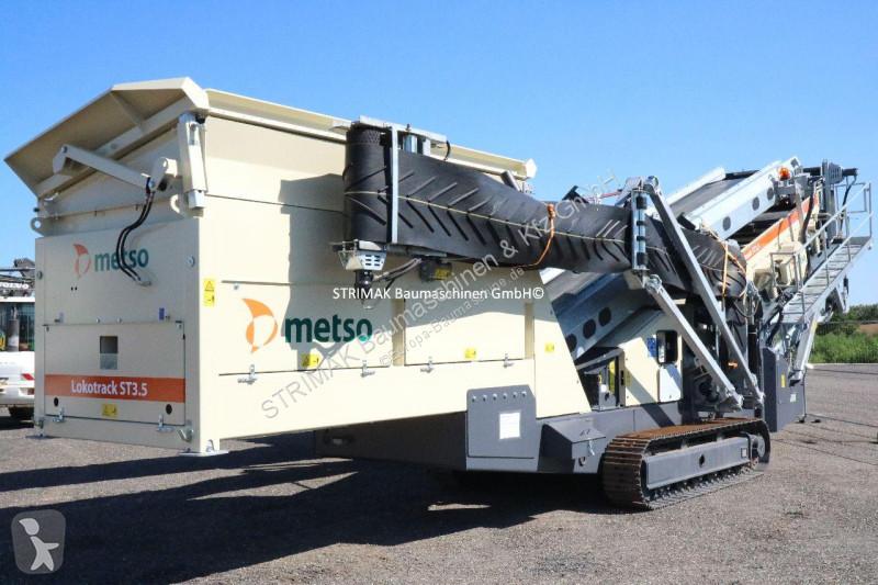 Ver as fotos Britadeira, reciclagem Metso ST 3.5