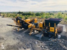 Concasseur-crible Fabo mck-65 concassage et criblage mobile pierre dur | mobile crushing & screening plant | granite-bazalte-gabbro- hard stone| Cone Crusher