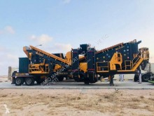 Trituradora-cribadora Fabo mck-90 usine de concassage et criblage mobile toutes types de pierre durs| crushing screening plant mobile for hard stone