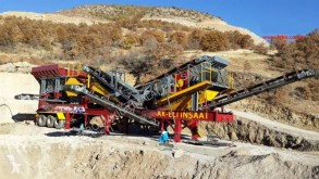 Drvenie, recyklácia triedič Fabo mck-60 usine de concassage et criblage mobile| mobile crushing&screening plant | PRET EN STOCK|Jaw and Impact Crusher Plants