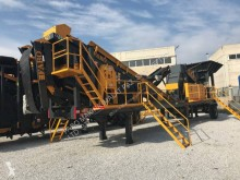 Concasor cu ciur Fabo MTK-65 USINE DE CONCASSAGE ET CRIBLAGE MACHINE DE SABLE MOBILE|PRET EN STOCK|MOBILE CRUSHING&SCREENING PLANT|CRUSHER MAKING SAND