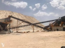 Drvenie, recyklácia triedič Fabo STATIONARY TYPE 300-400 T/H HARDSTONE CRUSHING & SCREENING PLANT**Jaw Crusher