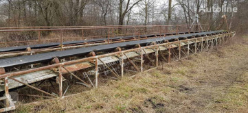 5 piece swimming conveyors (650 mm) - 20 m length each Brechen, Recycling gebrauchter Fördermittel