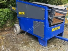TBU TB 84 2-deck mobile wheeled screener