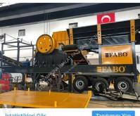 britadeira, reciclagem Fabo MJK-110 USINE DE CONCASSAGE A MACHOIRE PRIMAIRE MOBILE