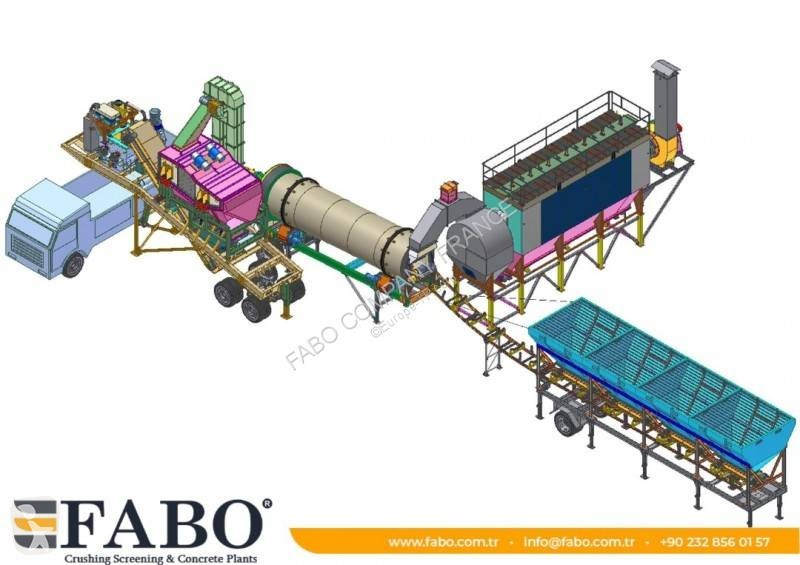 Ver as fotos Britadeira, reciclagem Fabo  Installation de asphalte de tout capacité mobile et fixe.