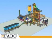 trituración, reciclaje Fabo Installation de asphalte de tout capacité mobile et fixe.
