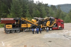 Fabo 粉碎机、回收机 PRO-100 MOBILE CRUSHING & SCREENING PLANT FOR MARBLE 碎石设备 新车