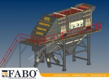 Concasseur Fabo FABO HORIZONTAL VIBRATING SCREEN