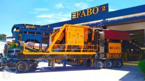Fabo MJK-110 USINE DE CONCASSAGE A MACHOIRE PRIMAIRE MOBILE used Screen crusher
