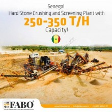Fabo STATIONARY TYPE 200-350 T/H HARDSTONE CRUSHING & SCREENING PLANT concasseur-crible neuf