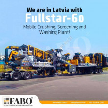Trituradora Fabo FULLSTAR-60 Crushing, Washing & Screening Plant