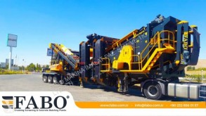 Fabo MDMK-03 MOBILE SECONDARY IMPACT CRUSHER READY IN STOCK дробильная установка новый