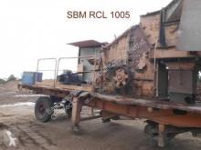 SBM radmobiler Prallbrecher RCL 1005 5 trituradora usado