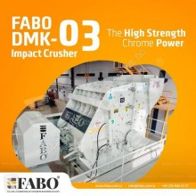 粉碎机、回收机 碎石设备 Fabo DMK-03 SERIES 250-350 TPH SECONDARY IMPACT CRUSHER