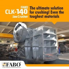 Puinbreker Fabo CLK-140 | 320-600 TPH PRIMARY JAW CRUSHER