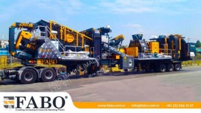 Fabo FULLSTAR-60 MOBILE JAW + CONE CRUSHER | 60-100 TPH new crusher