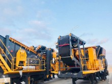 Concasare, reciclare concasare Fabo MCK-90 MOBILE CRUSHING & SCREENING PLANT FOR BASALT