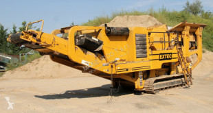 Extec c10 used crusher