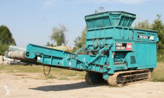Powerscreen powershredder 1800 used crusher