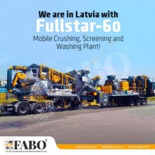 Fabo FULLSTAR-60 MOBILE JAW + CONE CRUSHER | 60-100 TPH used crusher