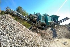 粉碎机、回收机 碎石设备 Terex Pegson Premiertrak XA 400