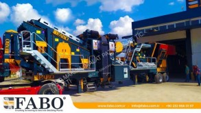 Fabo PRO 90 MOBILE CRUSHING&SCREENING PLANT | 90-130 TPH дробильная установка новый