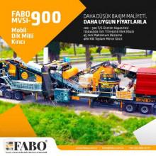 Fabo crusher MVSI-900 CONCASSEUR MOBILE POUR PRODUIRE DU SABLE