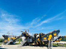Fabo MCK-95 MOBILE CRUSHING & SCREENING PLANT | JAW+CONE frantoio nuovo