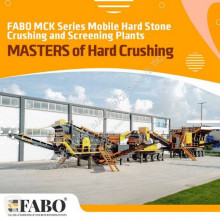 Fabo MCK-110 MOBILE CRUSHING & SCREENING PLANT | JAW+SECONDARY trituradora nueva