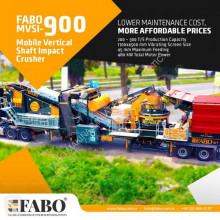 Fabo MVSI 900 MOBILE VERTICAL SHAFT IMPACT CRUSHING SCREENING PLANT concasseur neuf