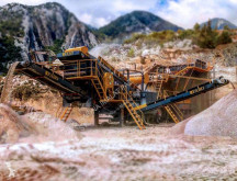 Drtič Fabo PRO-100 MOBILE CRUSHING & SCREENING PLANT FOR MARBLE