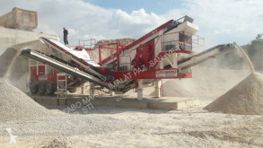 Concasare, reciclare concasare Fabo PRO-150 MOBILE IMPACT CRUSHER WITH SCREEN FOR LIMESTONE