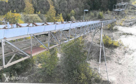 Concasare, reciclare platformă transport maşini Conveyor belt 100 m long /Förderband 100 m Länge