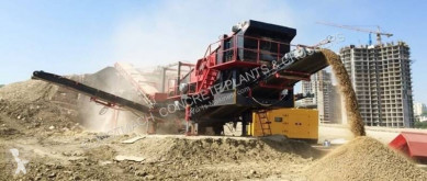 Constmach 150 tph CAPACITY MOBILE LIMESTONE CRUSHING PLANT new crusher