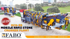 Fabo crusher MCK-95 MOBILE CRUSHING & SCREENING PLANT | JAW+CONE
