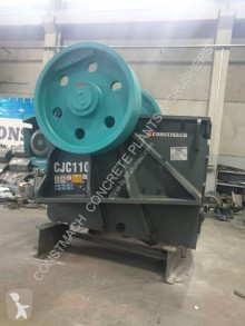 Constmach 250-300 tph CAPACITY PRIMARY JAW CRUSHER – 110 x 85 cm OPENING SIZE concasseur neuf