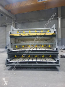 粉碎机、回收机 碎石设备 Constmach Vibrating Screen With Washing System On All Decks