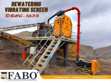 Fabo DSHC-1635 DEWATERING SCREEN трошачка нови