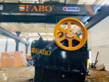 Fabo CLK-110 SERIES 180-320 TPH PRIMARY JAW CRUSHER drtič nový