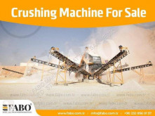 Fabo Brechanlage STATIONARY TYPE 300-400 T/H HARDSTONE CRUSHING & SCREENING PLANT