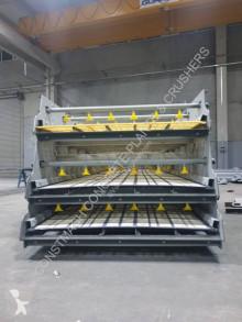 Britadeira, reciclagem trituração Constmach CRIBLE VIBRANT AVEC SYSTÈME DE LAVAGE SUR TOUS LES DECKS