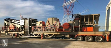 Constmach 60 to 80 tph Mobile Crushing Plant concasseur neuf