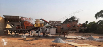 Trituración, reciclaje trituradora Constmach Usine de concassage mobile de granit de 60 à 80 tph