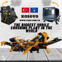 Trituración, reciclaje trituradora Fabo PRO-150 MOBILE IMPACT CRUSHER WITH SCREEN FOR LIMESTONE