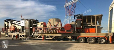 Constmach 60 to 80 tph Mobile Crushing Plant new crusher
