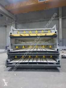Concasseur Constmach Vibrating Screen With Washing System On All Decks