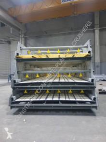 Drvenie, recyklácia Práčka piesku Constmach Vibrating Screen With Washing System On All Decks